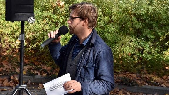 Stadtforscher Dominik Intelmann