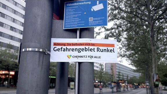 Wahlplakat Chemnitz für alle