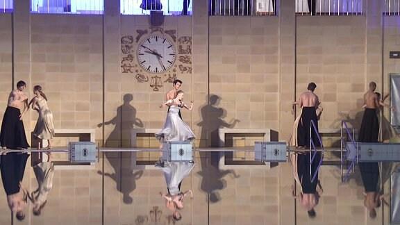 Ballett im Stadtbad Chemnitz