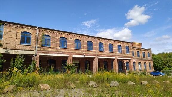 Fabrikgebäude der Wäscheunion Mittweida