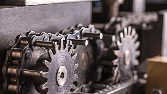 Teil einer industriellen Maschine