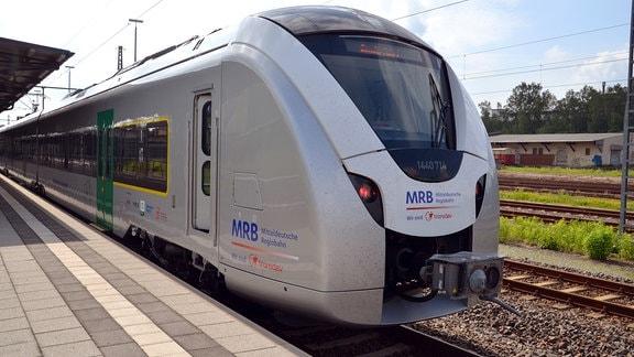 Mitteldeutsche Regiobahn stellt neue Triebwagen vor