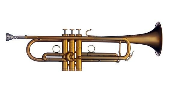 eine Trompete des Herstellers Buffet Crampon