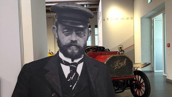 """Ein AUDI 14/35 PS Typ C """"Alpensieger"""" von 1919"""