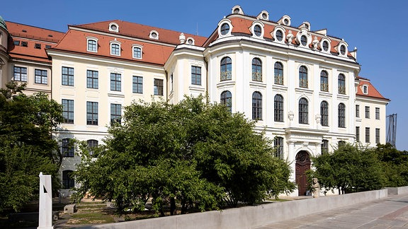 Das sogenannte Landhaus in Dresden
