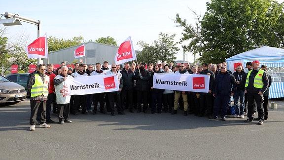 Streik beim Busverkehr DVS