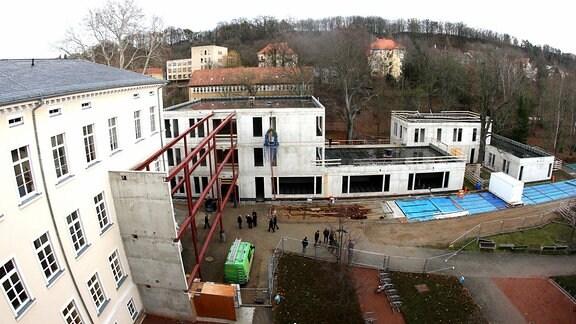 Richtfest am Schillergymnasium in Pirna