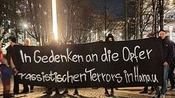 Gedenken in Dresden an Vorfälle in Hanau   MDR/Christian Essler