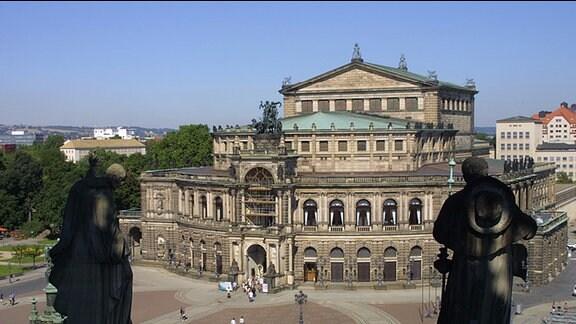 Hofkirche Dresden und Semperoper