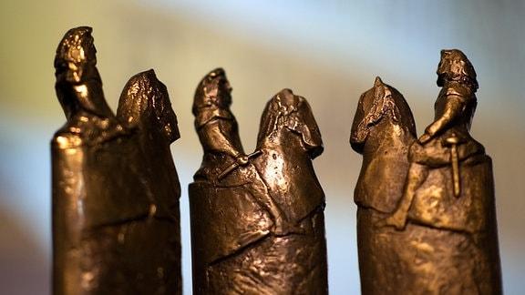 Drei Goldene Reiter, die Auszeichnungen des Filmfestes Dresden