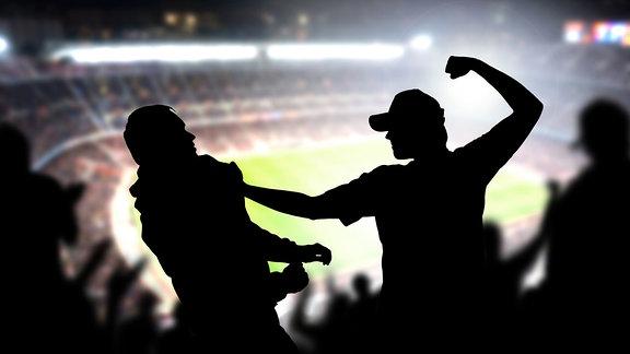 Gewalt im Fußballstadion
