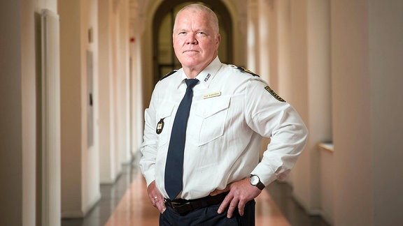 Polizeipräsident Horst Kretzschmar