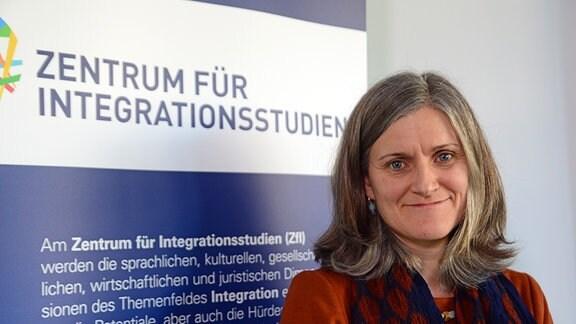 Professorin Heike Greschke, Vorsitzende des Zentrums für Integrationsstudien an der TU Dresden (ZFI)