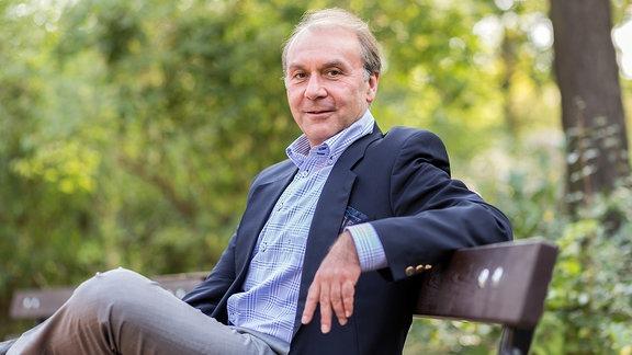Porträtfoto von Joachim Keiler (AfD). Er will OB von Meißen werden