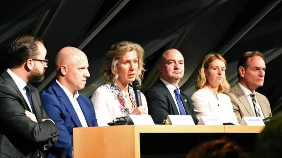Fünf Kandidaten für das Leipziger Bürgermeisteramt stellen sich vor
