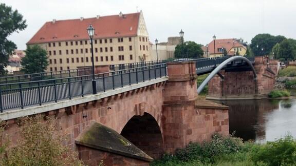 Hochwasserschutzanlage Grimma
