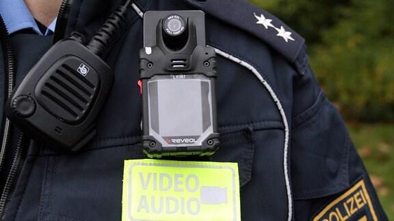 Bodycams für Leipziger Polizei