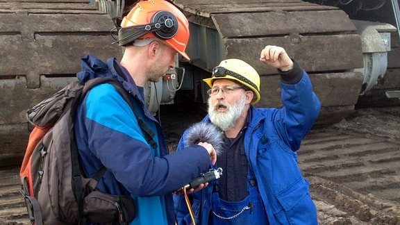 Gespräch mit Gerätefahrer Jörg Krummsdorf