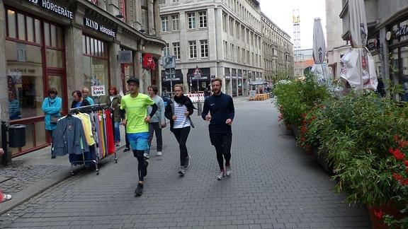 Sightrunning Tour, Leipzig