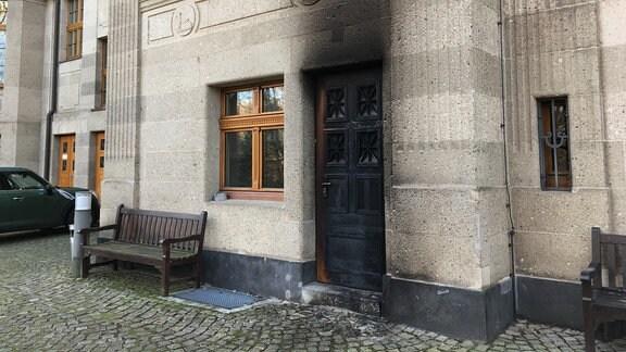 Brandanschlag Außenstelle BGH Leipzig