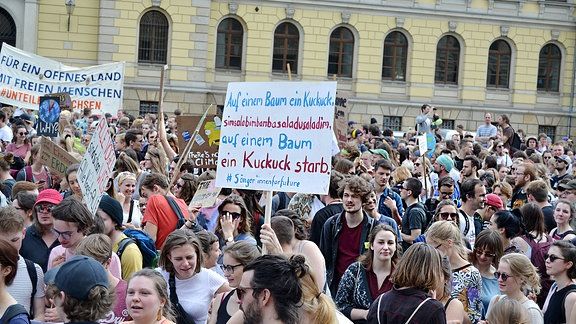 Fridays for Future in Leipzig.
