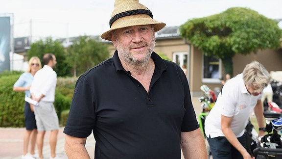 Harold Faltermeyer beim 11. Charity Golf Turnier, Leipzig