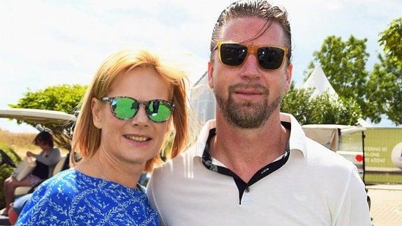 Ex-Nationalspieler Steffen Freund und Ehefrau Ilka