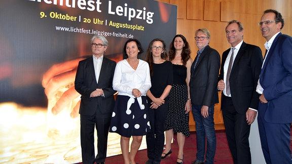 Vorstellung des Programms des 10. Lichtfestes in Leipzig