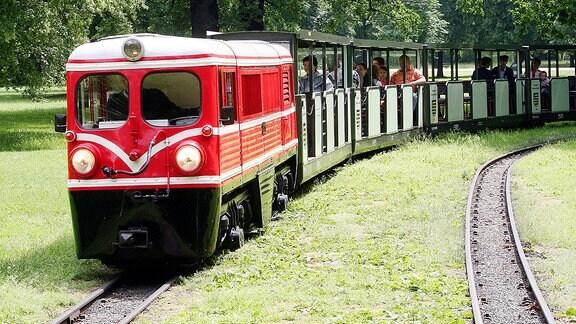 Parkeisenbahn in Dresden