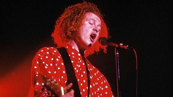 Simply Red, Konzert im Tempodrom Berlin: Mick Hucknall