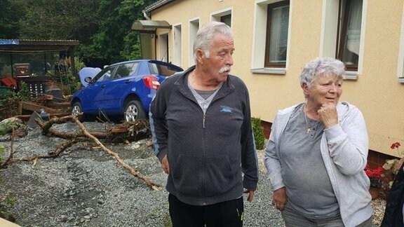 Peter und Ingrid Wölfel aus Adorf