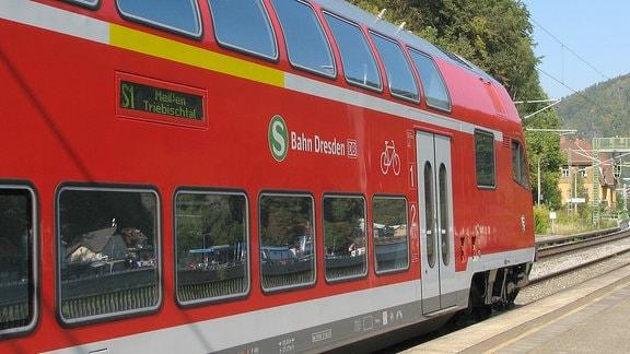 Steuerwagen der S-Bahn Dresden