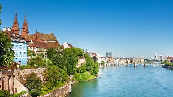 Basel im Sommer