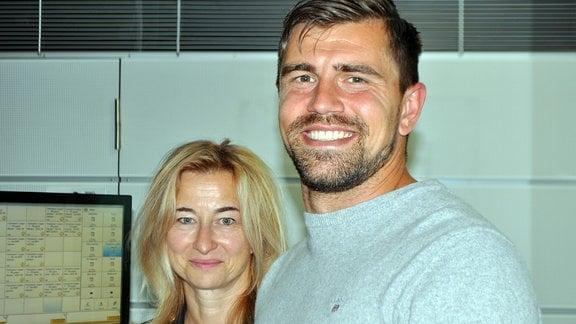 Benjamin Kirsten und Ines Meinhardt