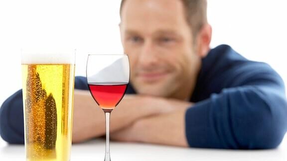 Collage Wein/Bier