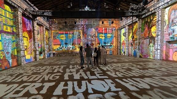 Hundertwasser-Experience im Kulturkraftwerk