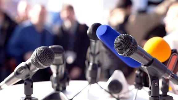 Verschiedene Mikrofone