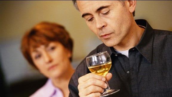 Ehepaar Suchtproblem Paartherapie