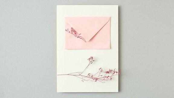 Romantisches Briefpapier