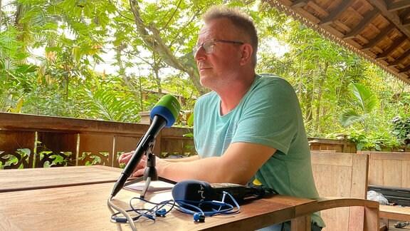 MDR-Sachsen-Zooreporter Dirk Hentze