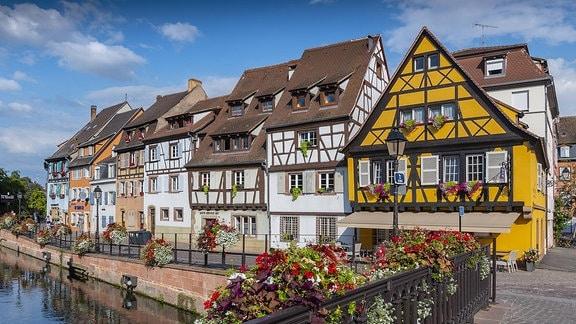 Die historische Altstadt von Colmar