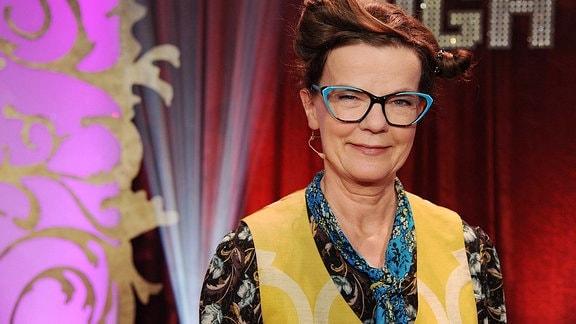 Die Komikerin und Kabarettistin Frieda Braun.