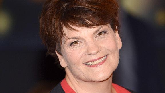 Gayle Tufts bei der Aufzeichnung der NDR-Talkshow Bettina und Bommes, 2016.