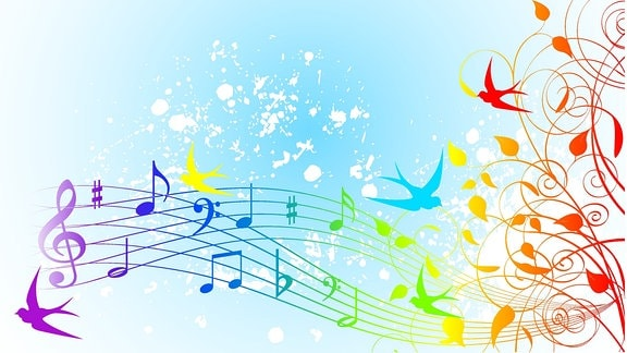 Grafik Noten Musik