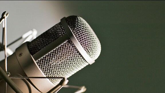 Ein Mikrofon