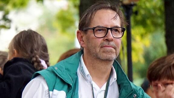 Frank Stritzke, Geschäftsführer der Volkssolidarität Elbtalkreis-Meißen