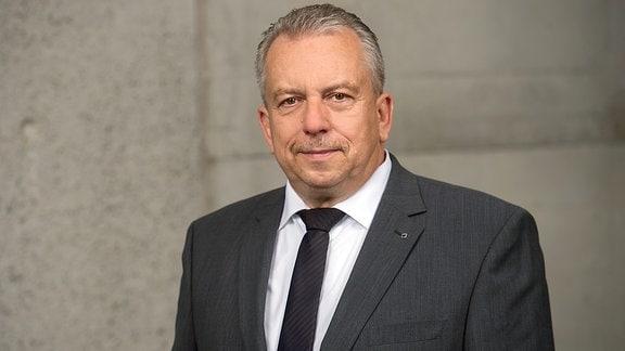 Harry Thonig, Leiter der Trumpf GmbH in Neukirch