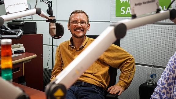 Dietrich Mühlberg, Heilpraktiker und Leiter der Dresdner Heilpraktikerschule