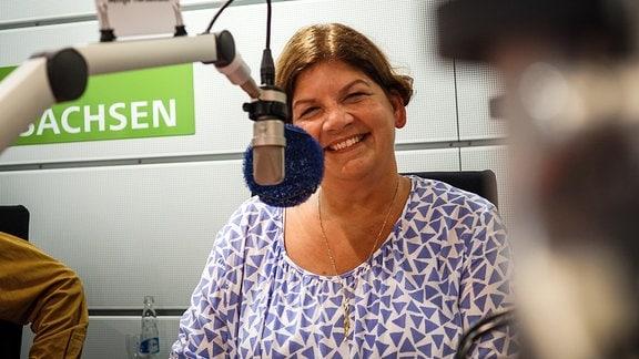 Antje Harzbecker, Anästhesiologin an der Sana Klinik in Borna