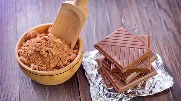 Kakao und Schokolade